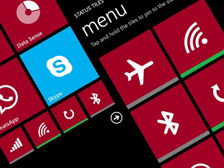 Status Tiles, pinna le impostazioni rapide su Windows Phone 8