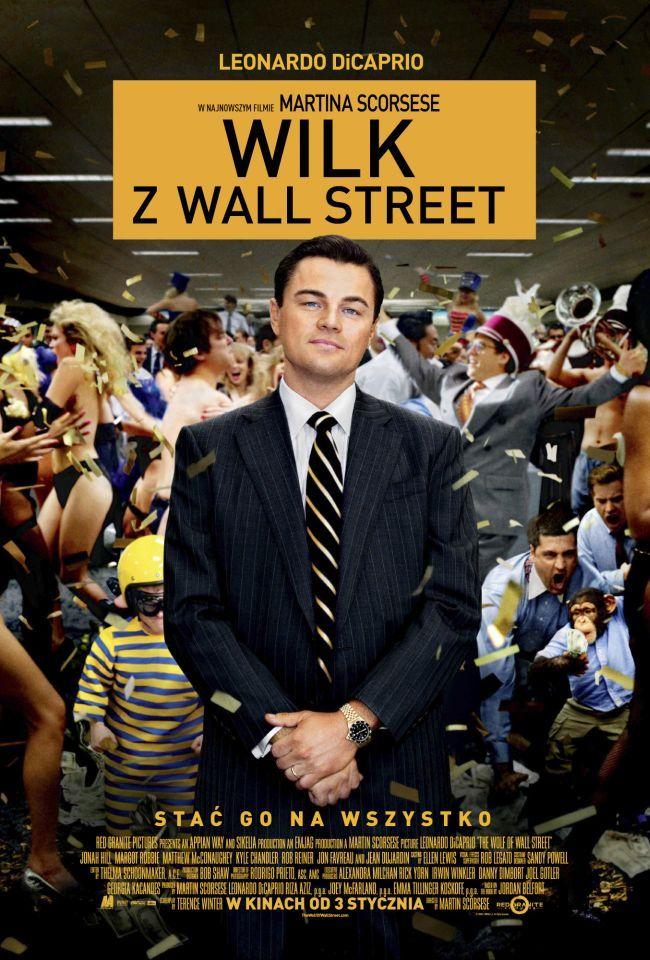 """""""Wilk z Wall Street"""" wchodzi do kin - do wygrania gadżety"""