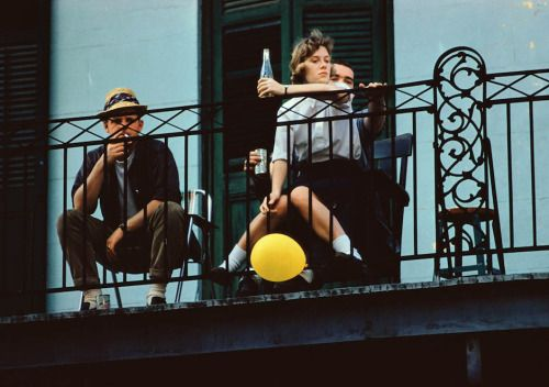 by Ernst Haas New Orleans, 1960