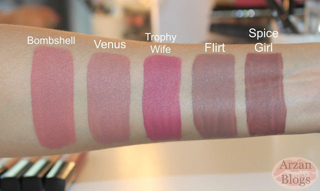 222 best images about Lip Swatches and Shades on Pinterest