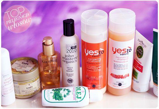 Alina Rose Makeup Blog: Moja pielęgnacja włosów. Olej Nami z korzenia łopianu, Yest to Carrots, John Masters Organics, maska drożdzowa...