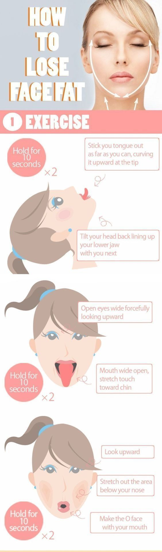 Effective Ways To Lose your Face Fat