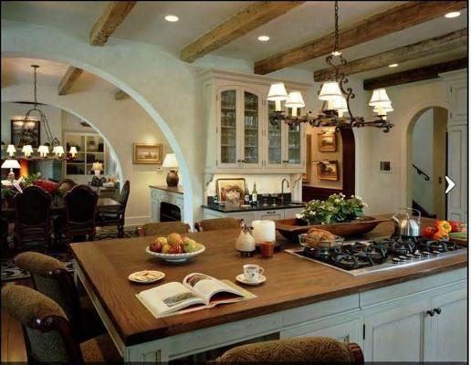 Mediterrane kücheneinrichtung ~ Die besten mediterranean style kitchen island designs ideen