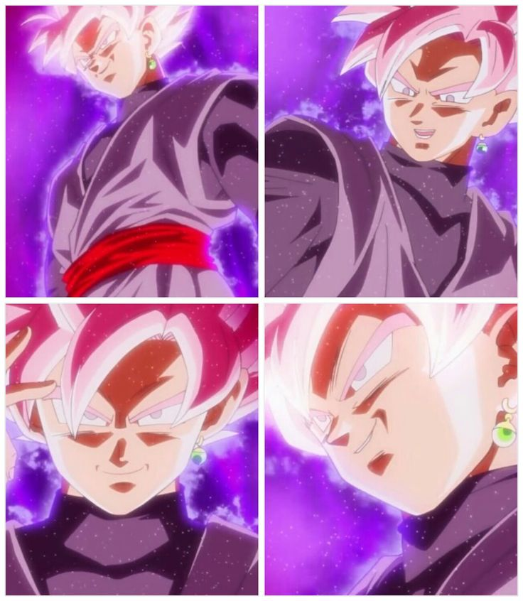 Black Goku Super Sayajin Rose - Visit now for 3D Dragon Ball Z shirts now on sale!