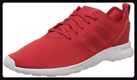 adidas Damen ZX Flux Smooth Sneaker, Rot (Lush Red S16-St/Lush Red S16-St/Core White), 37 1/3 EU - Sneakers für frauen (*Partner-Link)