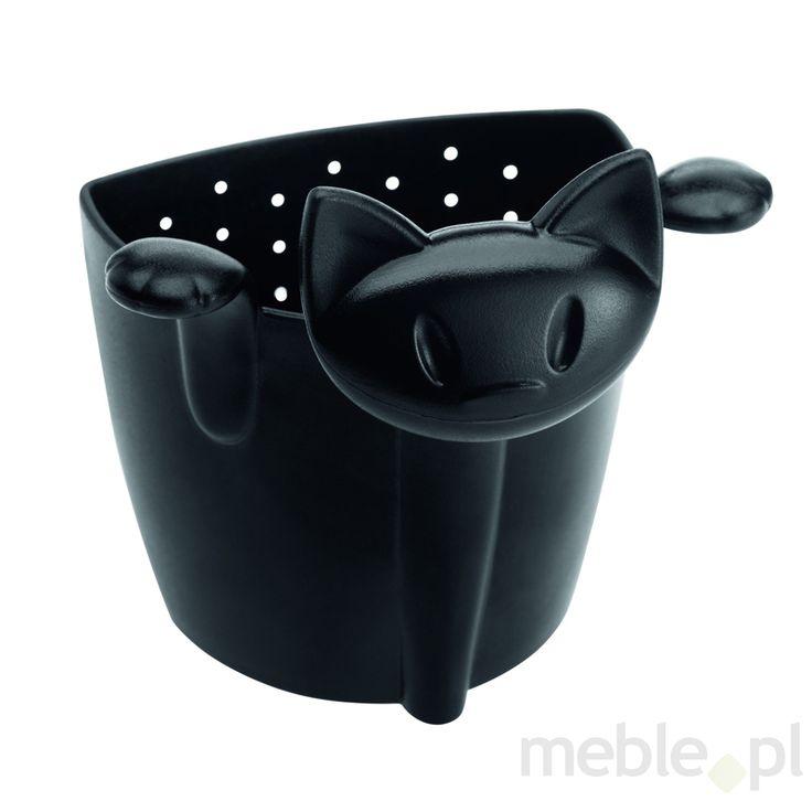 Zaparzaczka do herbaty kotek czarna Mimmi KZ-3236526, koziol - Wyposażenie wnętrz