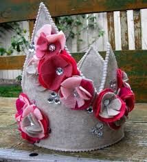 felt princess crowns - Google Search