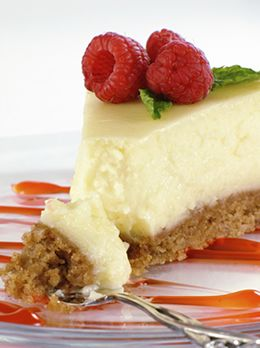 Creamy, Dreamy Gluten-Free Cheesecake    A cool slice of decadence with a gluten-free, dairy-free twist
