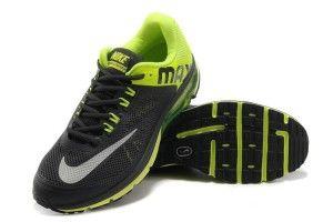 Herren Schuhe Nike Air Max 2013 Schwarz Grün Gelb