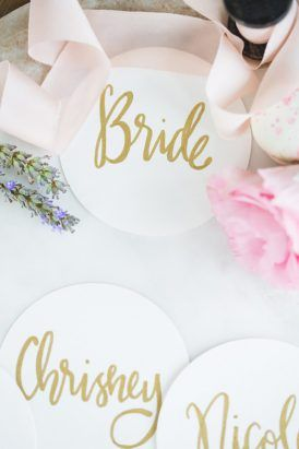 Flower Filled Bridesmaid Party