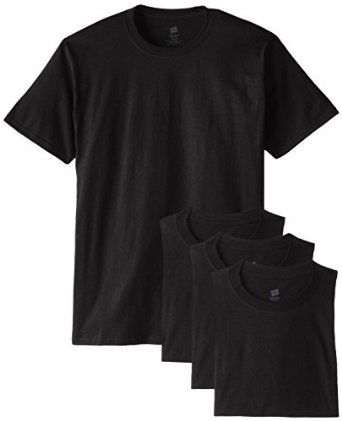 Hanes Men's ComfortSoft T-Shirt (Pack of 4)... by Hanes for $13.71 http://amzn.to/2hPVg1M