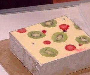 La torta quadro d'autore di Luca Montersino