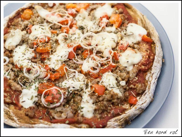 Pizza met zoete aardappelbodem, sweet potatoes, fodmap | FODMAP ...
