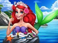 Ariel Yaz Makyajı,Ariel Yaz Makyajı oyun,Ariel Yaz Makyajı oyna,Ariel Yaz Makyajı oyunu ,Ariel Yaz Makyajı oyunları