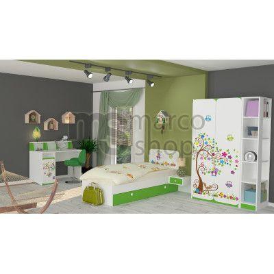 Camera tineret Bufnite - Mobilier pentru copii - Mobila copii