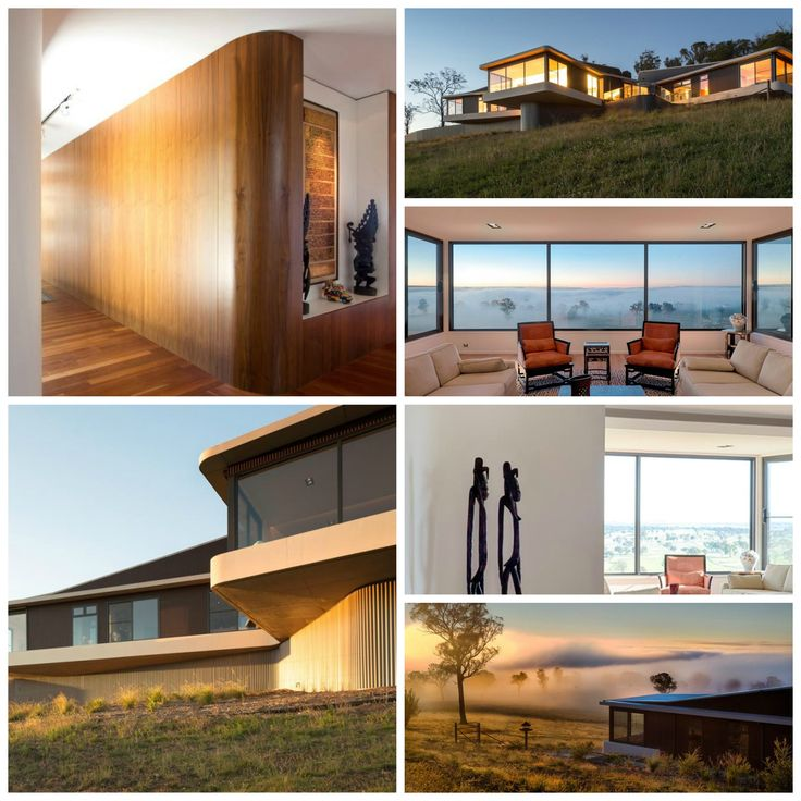 Luigi Rosselli Architects completed this modern country side house in the scenic location of Armidale, Australia. The team of architects came up with a wonderful concept which catered to the needs of the modern family...!!