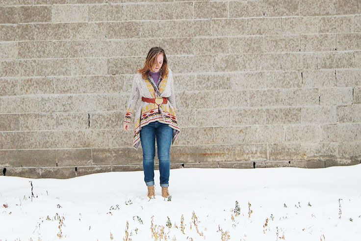 What She Wears: So lovely for a Sunday look.