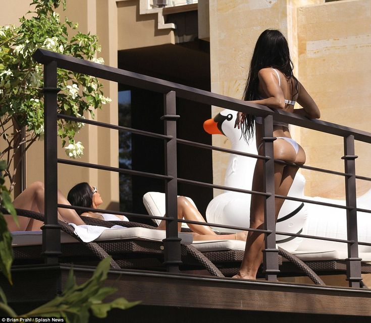 Family time: Scott Disick hung out with ex-girlfriend Kourtney Kardashian in Costa Rica on...