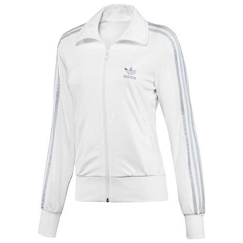 What a Man (2011): Carolin (Mavie Hörbiger), the girlfriend of Alex (Matthias Schweighöfer), wears the same ADIDAS Originals Firebird TT Training jacket when he picks her up from hospital. Click on the pic to watch the ORIGINAL scene at 0:12  find out where you can get your very own retro ADIDAS Originals jacket.