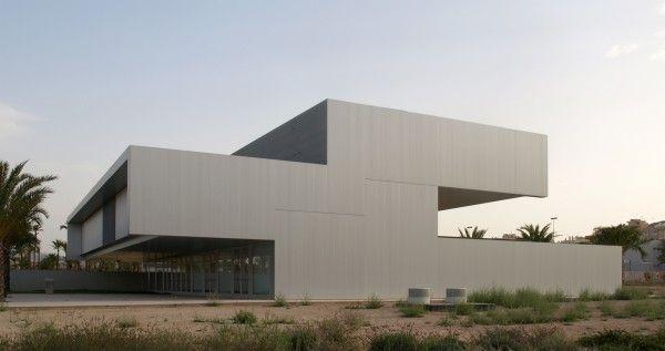 Edificio Quorum I en Elche (Alicante) realizado por Javier García-Solera Vera, Ernesto Martínez Arenas.