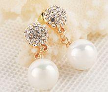 brincos pequenos bijoux atacado brinco brincos de perola canal brincos de festa 18k brincos ouro cristal brincos moda jóias para mulheres d'oreille boucle hoop earring(China (Mainland))