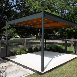 15 best shade structures images on pinterest shade for Steel shade structure design