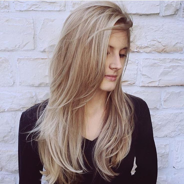 Nothing quite like a champagne blonde. Love this one by @hairbyjessica_  thanks for tagging #modernsalon!