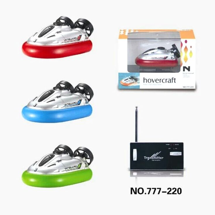 RC Models Boats Mini Hovercraft Speedboat Model High Powered 2.4V Toy Boat Plastic Model Outdoor Toy //Price: $54.38     #technology