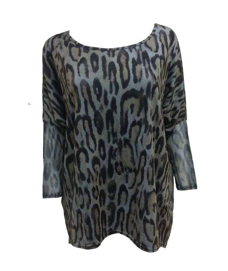 A Postcard From Brighton Pandora PhotoCat Paloma Grey Animal Print Top http://www.cove-online.com/m34/A-POSTCARD-FROM-BRIGHTON/p1287/A-Postcard-From-Brighton-Pandora-PhotoCat-Paloma-Grey-Animal-Print-Top/product_info.html