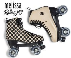 Melissa Roller Joy: Melissa lança patins clássicos de 4 rodas.