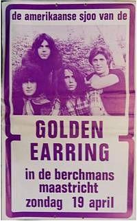 1970-04-19 Golden Earring show poster Maastricht - Berchmans.