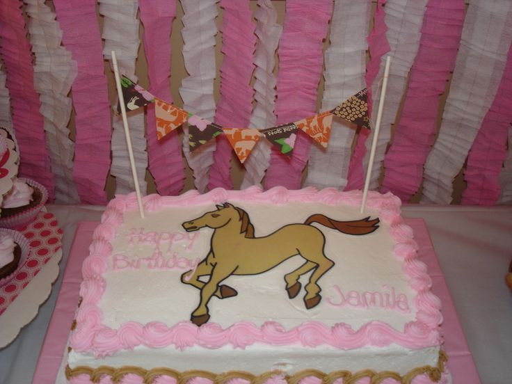 Pennant for cake