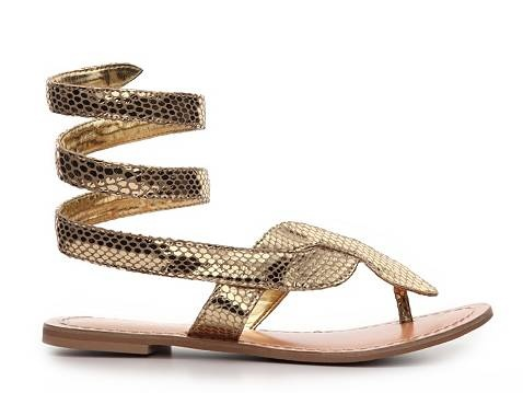 To Wear: Ancient Egypt inspired golden sandals | Salam ...