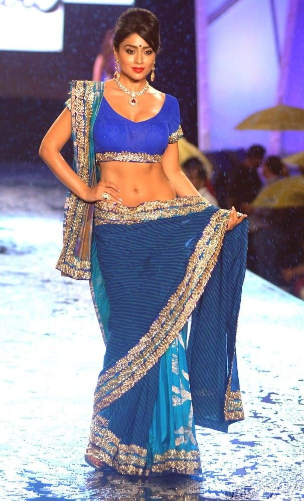 Shriya Saran for Shaina NC @ 8th annual 'Caring with Style' Fashion Show, June, 2013, in association with The Cancer Patients Aid Association (AFP)