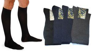 Groupon - 6 paia di calze da uomo 100% filo di scozia a [missing {{location}} value]. Prezzo: €14,99