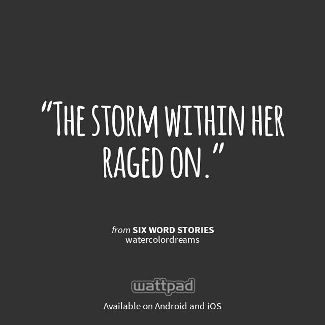 "I'm reading ""Six Word Stories"" on #Wattpad. #ShortStory #Quote"