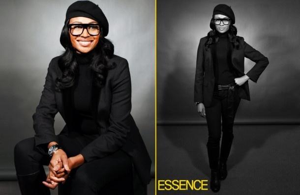 Model Housewife Cynthia Bailey - love the look!