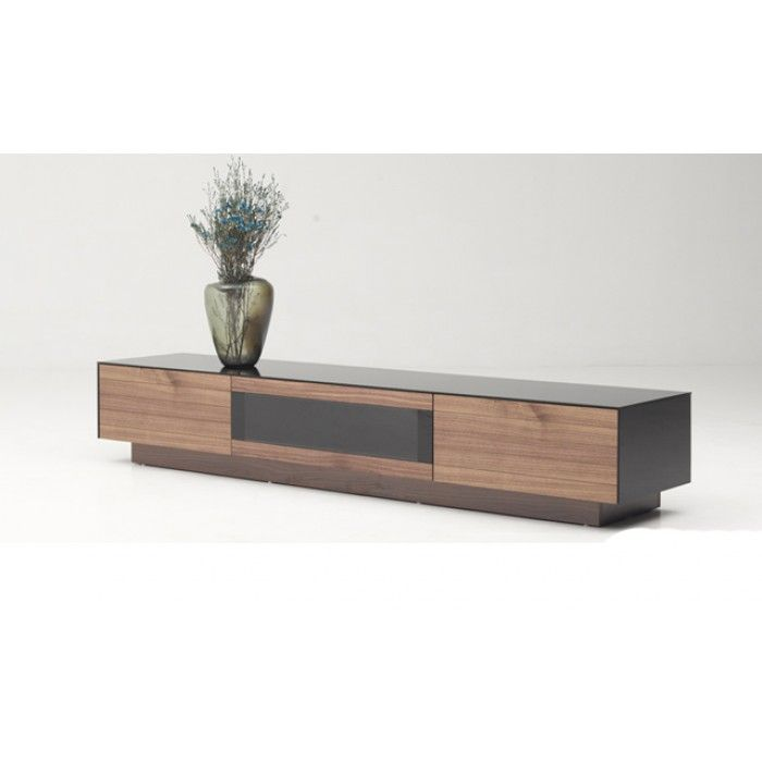 Modrest Darius Modern Walnut TV Stand