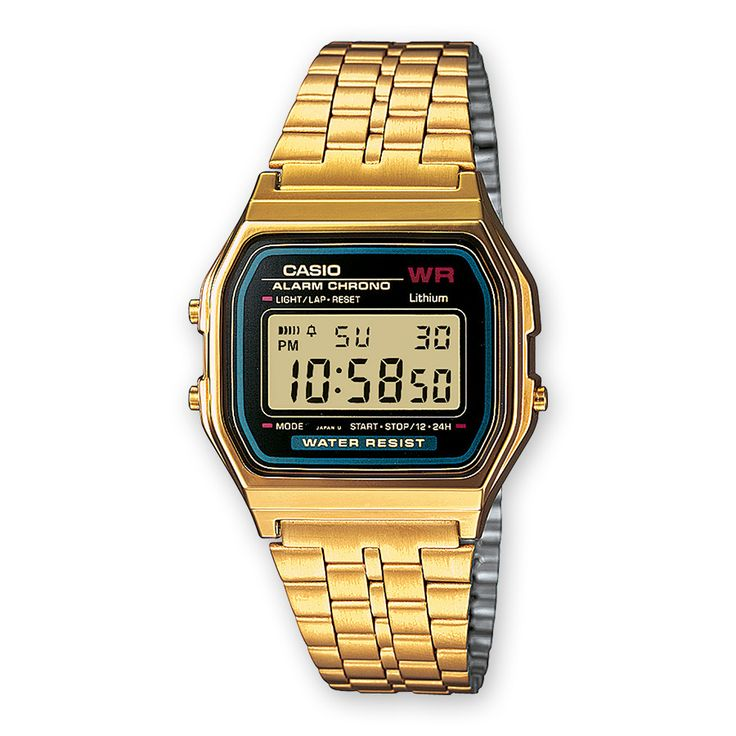 CASIO A159WGEA-1EF Collection Digitaluhr Gold | CASIO Online Shop