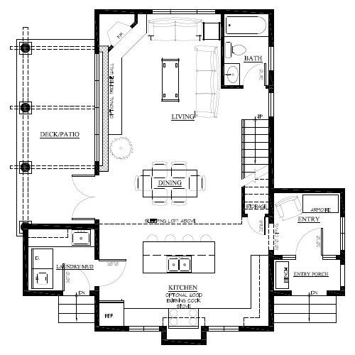 12 best double storey extension images on pinterest for Cabin addition floor plans