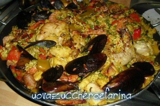 Paella alla valenciana, ricetta internazionale