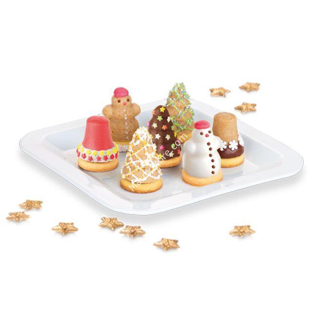 Komplet foremek na Bożonarodzeniowe ciasteczka nadziewane - kpl 3 szt | TESCOMA DELICIA