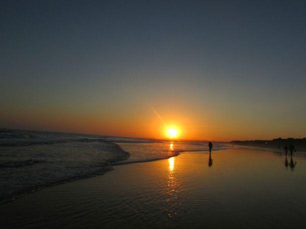 Sunset at Praia da Falesia Vilamoura Portugal