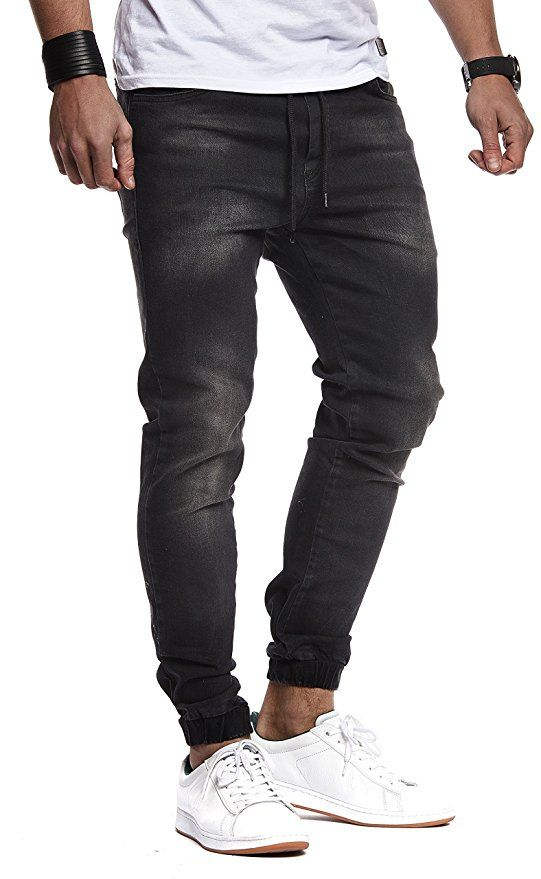 58c33a3397 LEIF NELSON Men's Trousers Jogger Jeans Jeans Leisure Trousers ...
