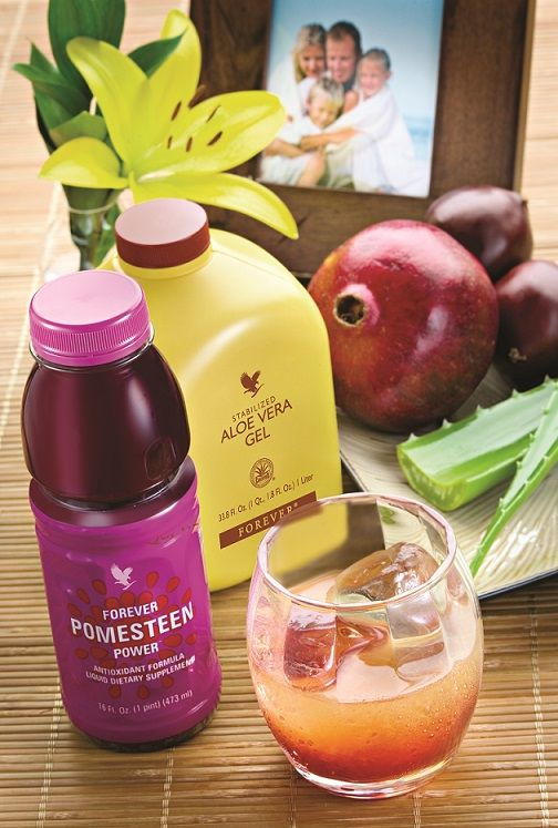 Forever Pomesteen Power's great taste and the amazing benefits of our Aloe Vera Gel make this drink incredible! https://www.facebook.com/groups/gillianajonesforever/