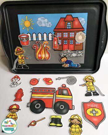 Пожарная безопасность: Интерактивная Логопедия Деятельность по teachingtalking.com