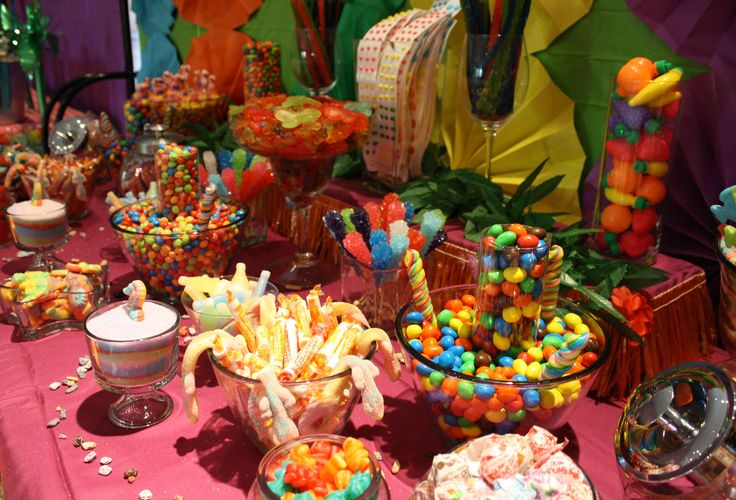 Caribbean Tropical Beach Party Menu: 16 Best Images About Luau Party Tropical Candy Bar Buffet