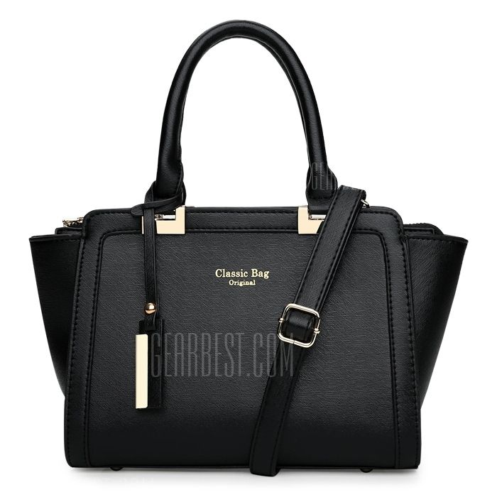 Women Elegant <b>Solid</b> Color PU Tote Shoulder Bag в <b>2019</b> г. | Buy ...