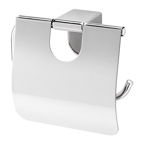 KALKGRUND Toilet roll holder IKEA Easy to clean since the surface is clear lacquered. No visible screws, as the hardware is concealed.