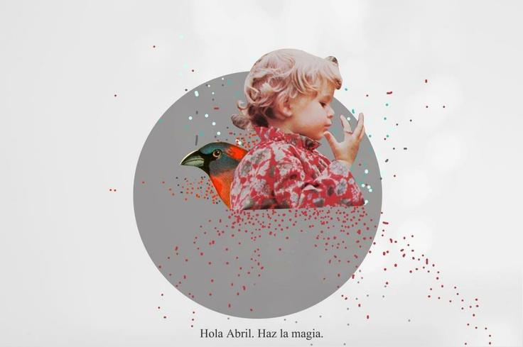 April makes magic.  By:Little Calpurnia www.facebook.com/LittleCalpurnia